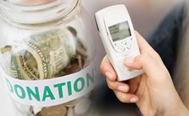 Donaciones SMS
